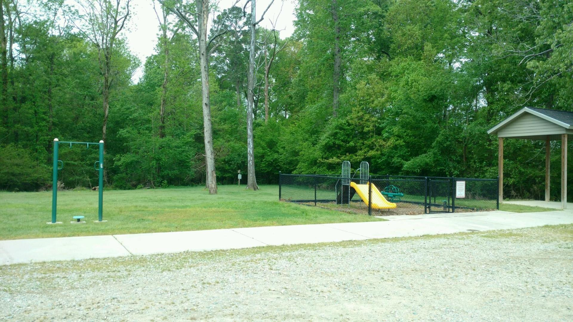 Playground area  at Stoney Creek Environmental Park