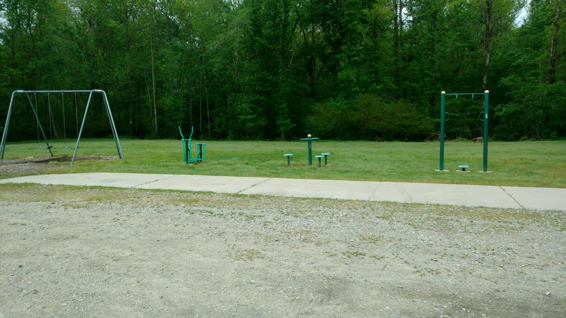 Exercise Equipment at Stoney Creek Environmental Park