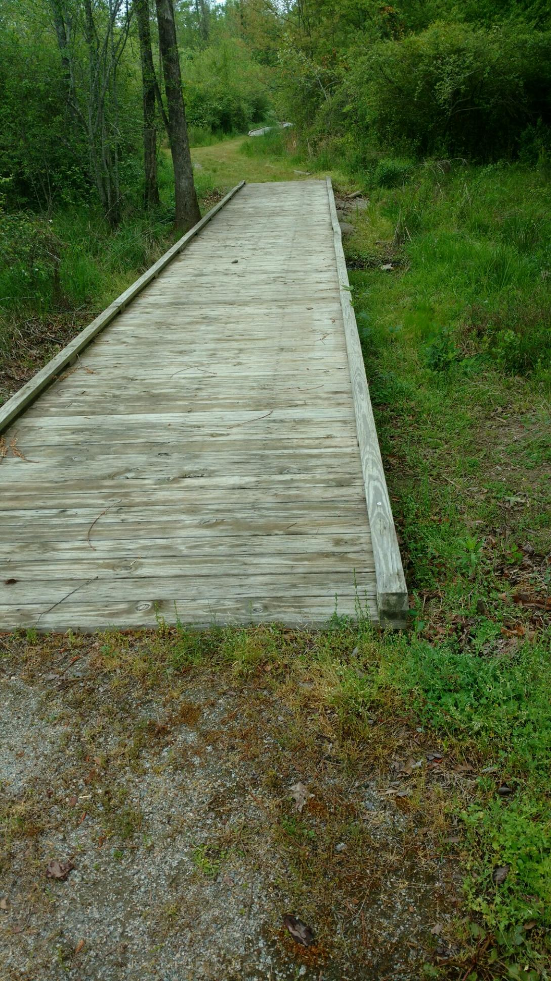 Boardwalks along the Greenway at Stoney Creek Environmental Park