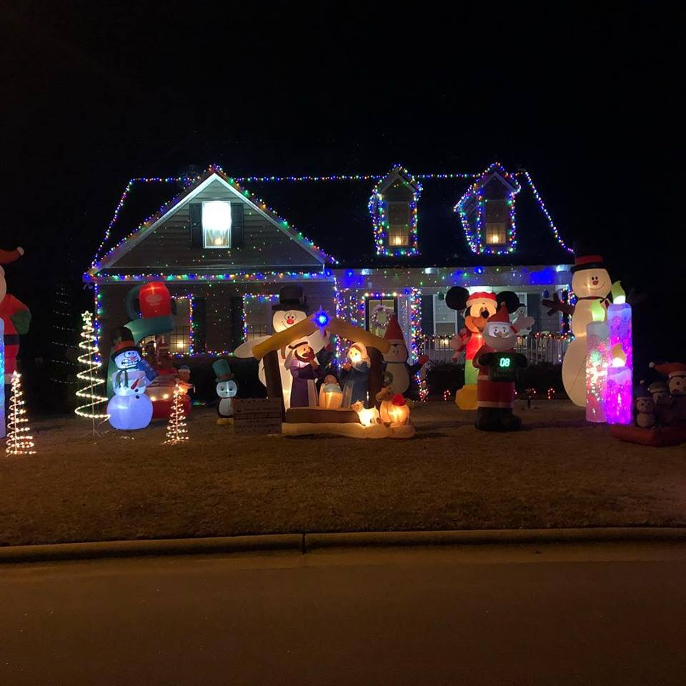 Christmas Light Competition  Home