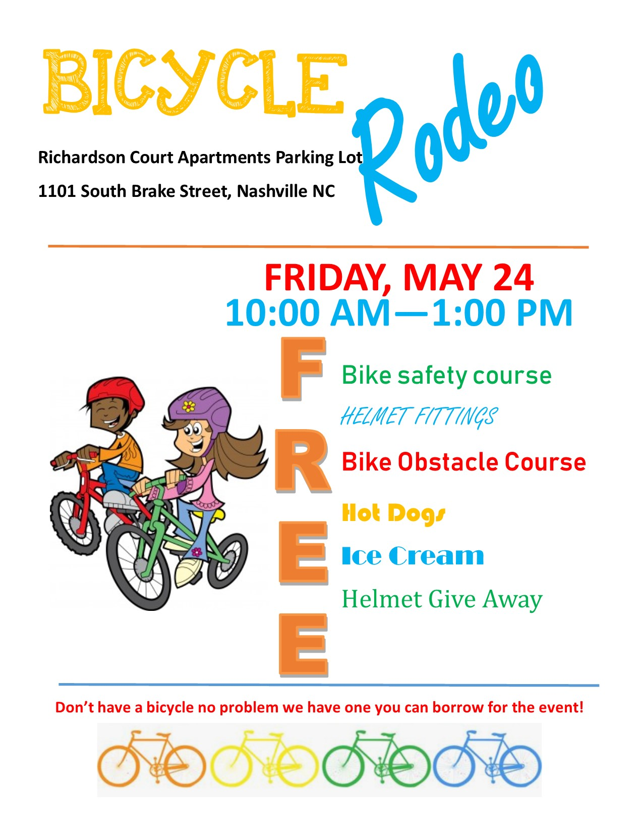 Bicycle Rodeo Flyer