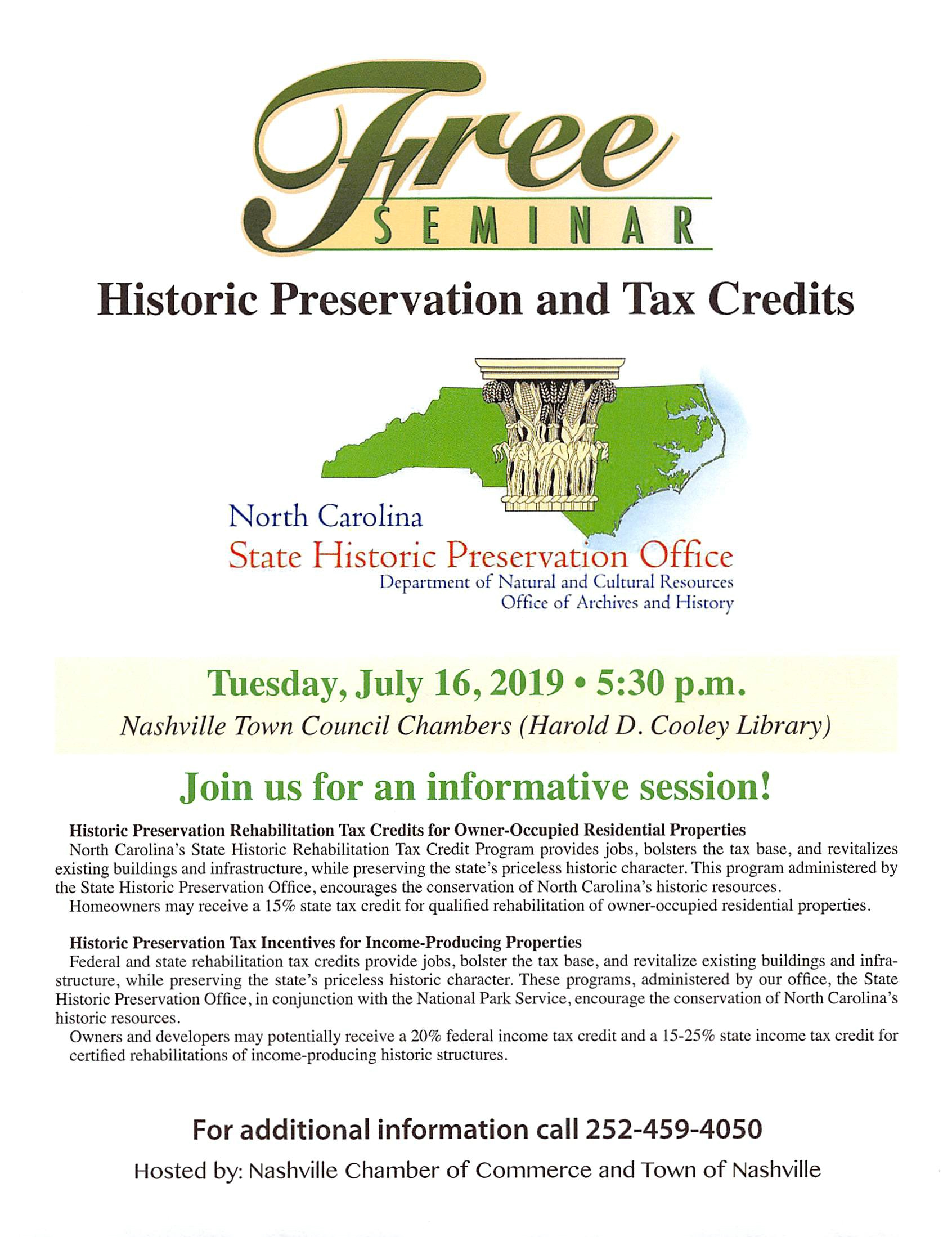 Historic Preservation and Tax Credits Program