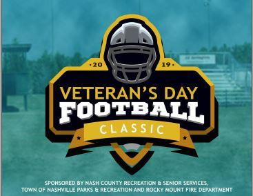 Veteran's Day Football Classic Flyer