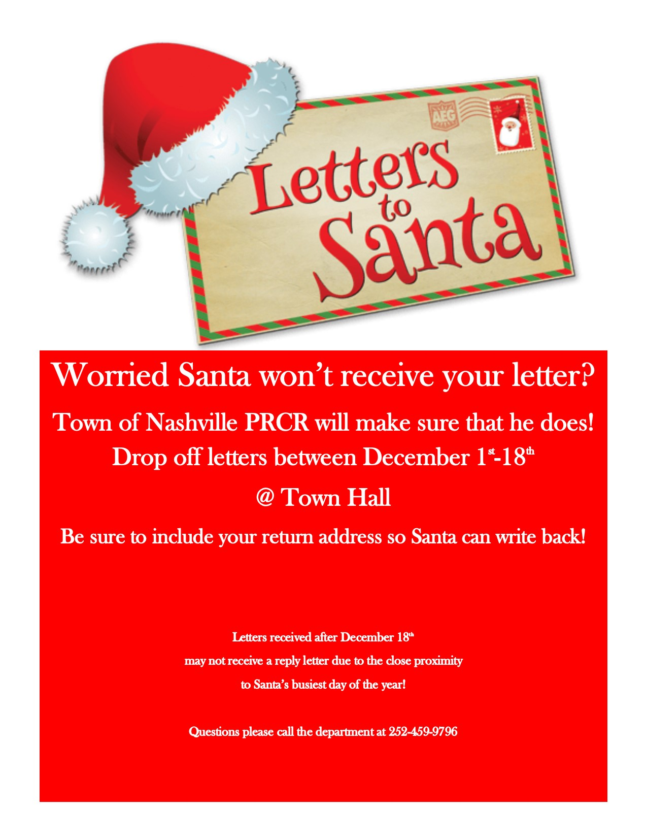 Last Day to Mail Santa Letters
