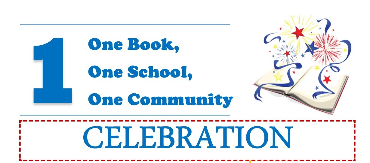 One Book One School One Community Banner